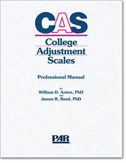 College Adjustment Scales | CAS