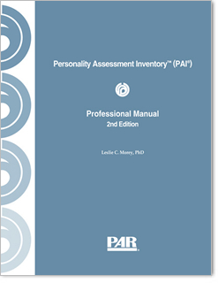 Personality Assessment Inventory | PAI