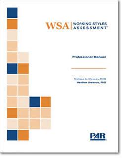 image regarding Learning Styles Assessment Printable titled Doing work Models Analysis WSA